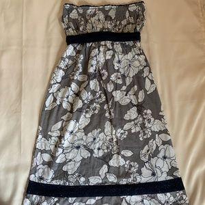 Hollister Junior's Floral Strapless Dress